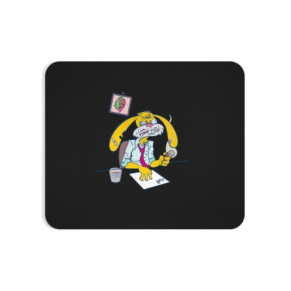 Thumb Boss Bunny! Mouse Pad